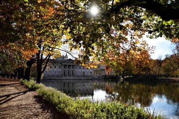 Herfst in Łazienki Park